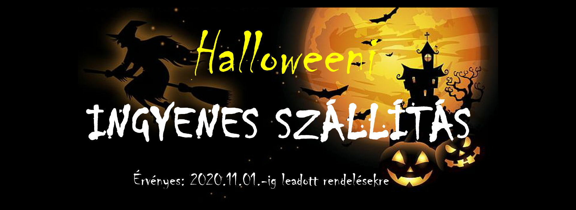 Nagyméretű Halloween