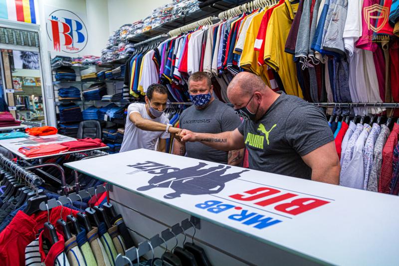 Strongman ruha vásárlás Mr.BB Big Size üzletében