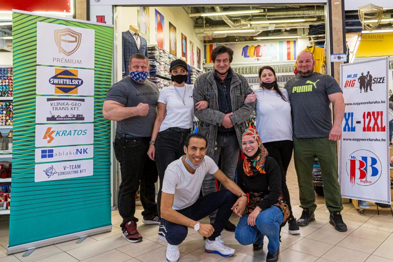 Tihanyi Tóth Csaba,Strongman,Mr.BB Big Size csapata