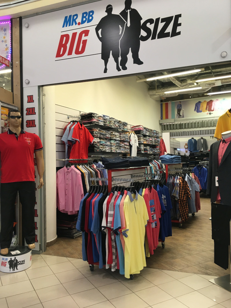 Mr.BB Big Size üzlet