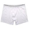 Fehér sztreccs boxeralsó