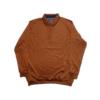 Kép 1/4 - a-ferfi-galleros-pulover-rozsdavoros-elegans-nagymeretu1