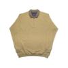 Kép 1/4 - a-ferfi-nagymeretu-bezs-feligcipzaras-galleros-pulover1