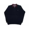 Kép 1/4 - a-ferfi-nagymeretu-sotetkek-feligcipzaras-galleros-pulover1