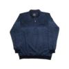 Kép 1/4 - a-ferfi-nagymeretu-sotetkek-mintas-galleros-zsebes-pulover1