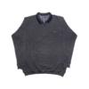 Kép 1/4 - a-ferfi-nagymeretu-szurke-feligcipzaras-galleros-pulover1