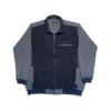 Kép 1/4 - a-nagymeretu-ferfi-szurke-cipzaras-pulover1