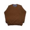 Kép 1/3 - a-nagymeretu-kerek-nyaku-barna-pulover1
