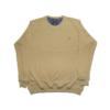 Kép 1/3 - a-nagymeretu-kerek-nyaku-bezs-pulover1