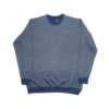 Kép 1/3 - a-nagymeretu-kerek-nyaku-kek-pulover1