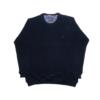Kép 1/3 - a-nagymeretu-kerek-nyaku-sotetkek-pulover1