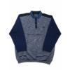 Kép 1/3 - s-kek-galleros-pulover-nagymeret1