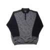 Kép 1/4 - s-sotetkek-galleros-pulover-nagymeret1