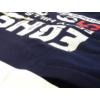 Kép 3/4 - sotetkek-feher-kapucnis-pulover-nagy-meret3