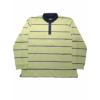 Kép 1/3 - t-halvanyzold-csikos-galleros-pulover-nagymeretu1