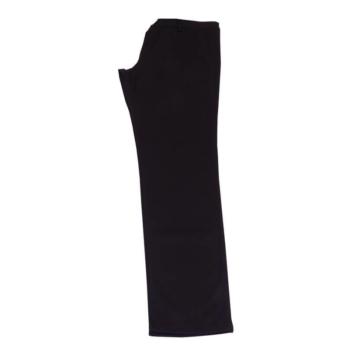D. Fekete, apró kockás elegáns nadrág