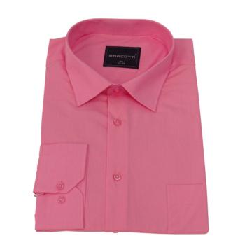 B. Rózsaszín hosszú ujjú ing