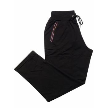 P. Fekete vékony melegítő nadrág