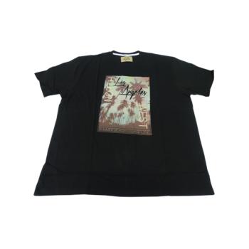 P. Fekete Los Angeles, rövid ujjú póló