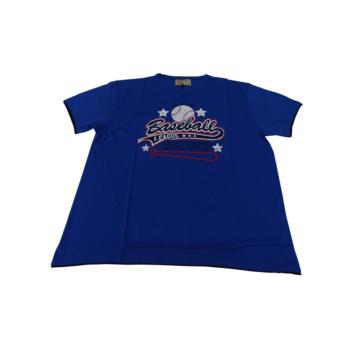 P. Királykék Baseball, rövid ujjú póló