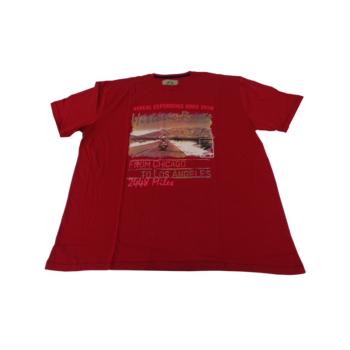 P. Piros Historic, rövid ujjú póló