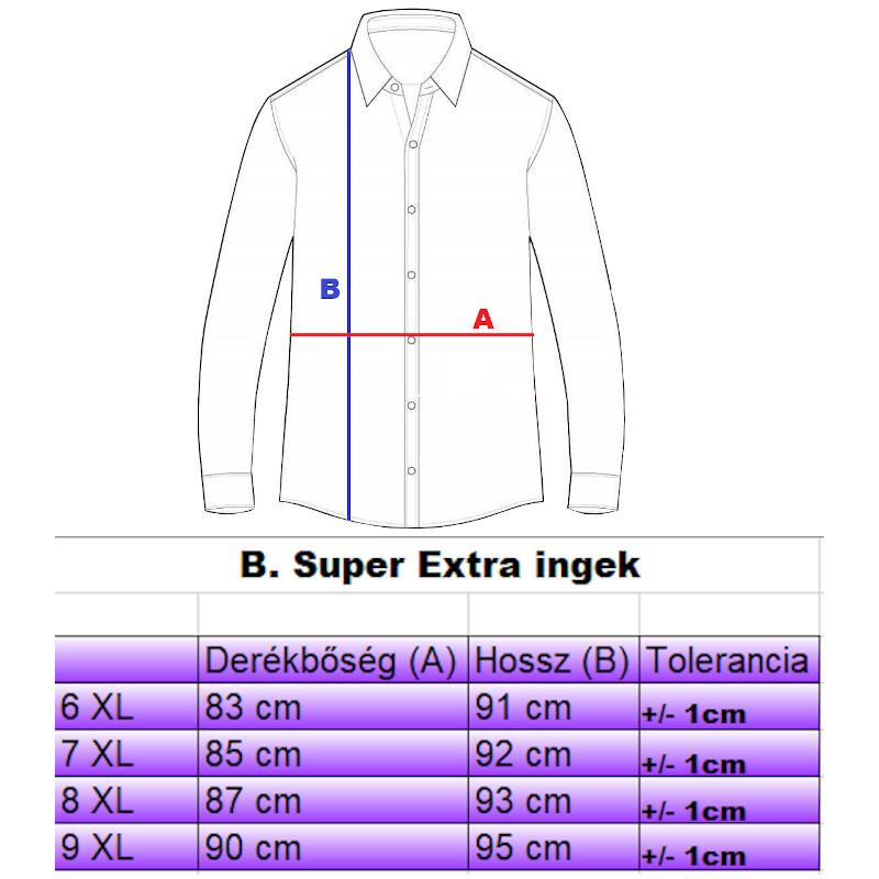 b-super-extra-ingek-merettablazat