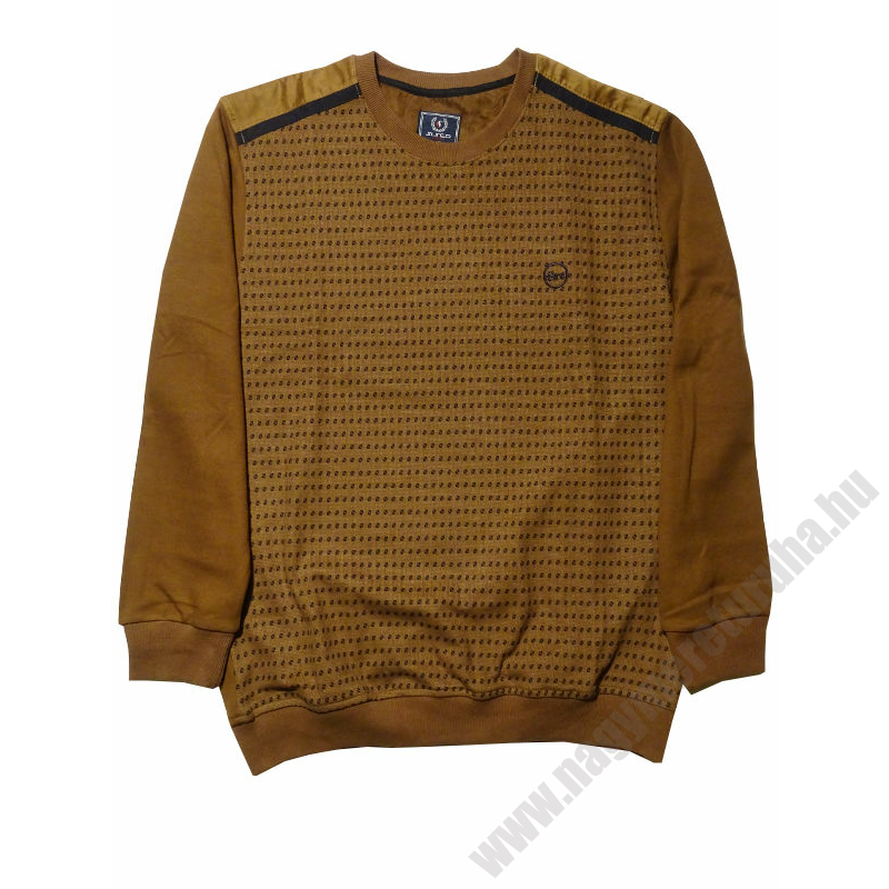 s-barna-mintas-pulover-nagymeret1