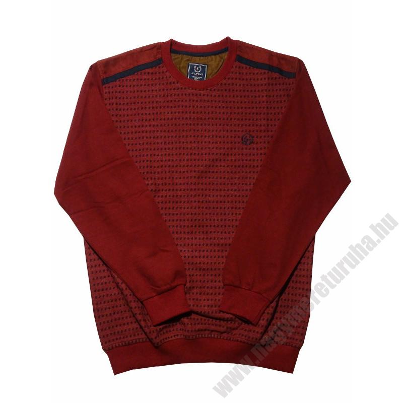 s-bordo-mintas-pulover-nagymeret1