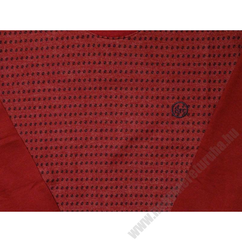 s-bordo-mintas-pulover-nagymeret2
