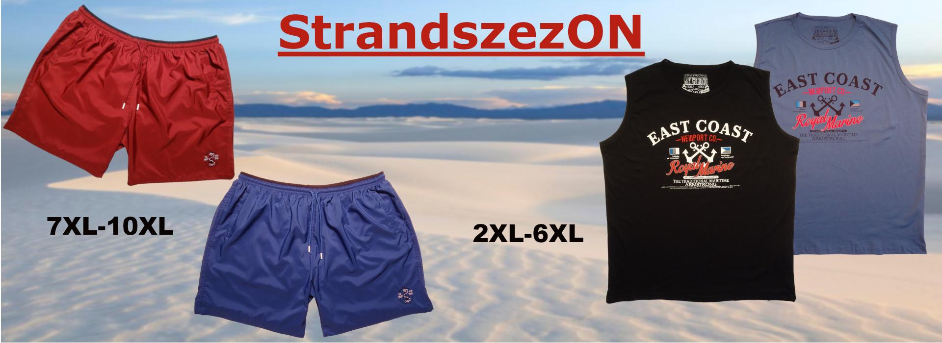Strand viselet extra nagy méretekben